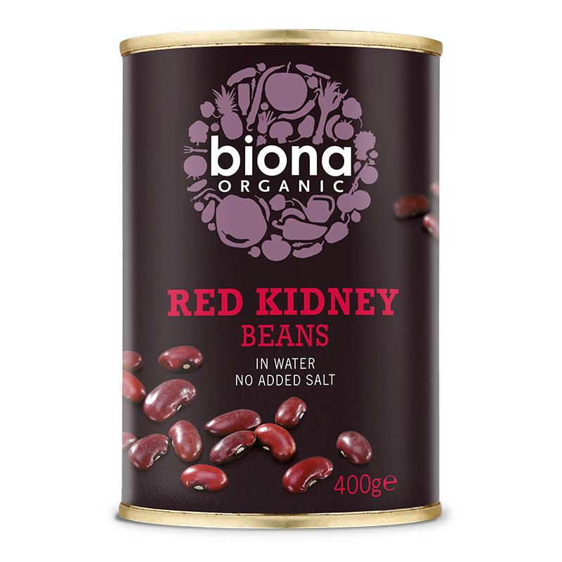 Organic Red Kidney Beans (400g) - Romaine Calm Scotland