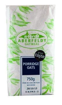 Porridge Oats, Aberfeldy (750g) - Romaine Calm Scotland