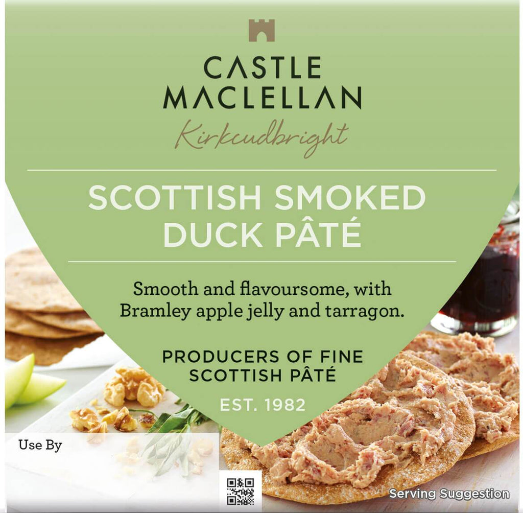 Rannoch Smoked Duck Liver Pate - Castle Maclellan (100g) - Romaine Calm Scotland