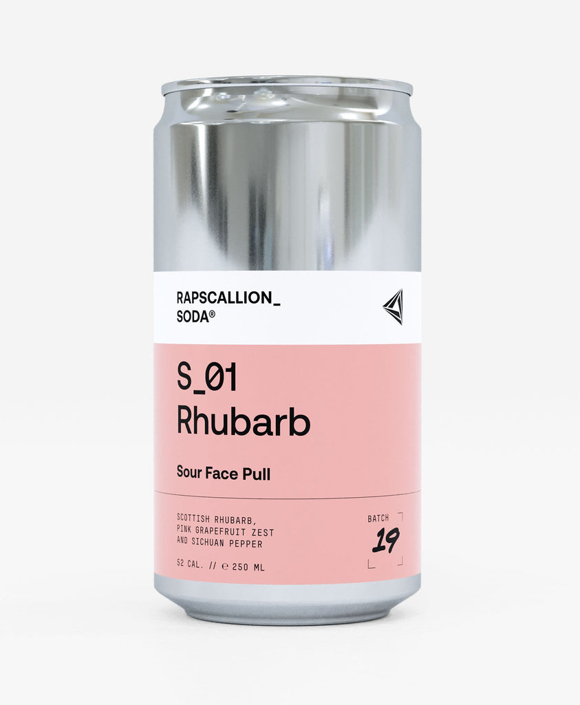 Rhubarb Soda - Rapscallion (250ml) - Romaine Calm Scotland