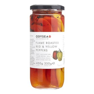 Roasted Red + Yellow Peppers (450g) - Romaine Calm Scotland