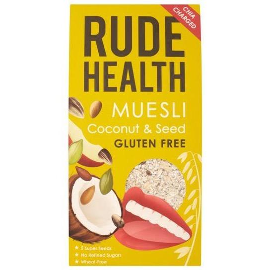 Rude Health GF Coconut + Seed Muesli (500g) - Romaine Calm Scotland