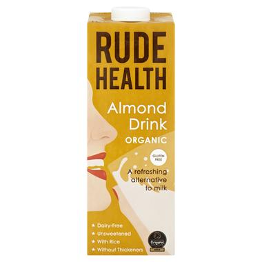 Rude Health Organic Almond Milk (1Litre) - Romaine Calm Scotland