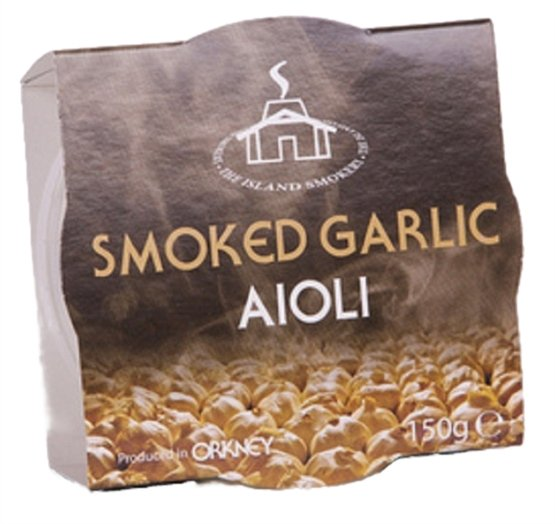 Smoked Garlic Aioli (150g) - Romaine Calm Scotland