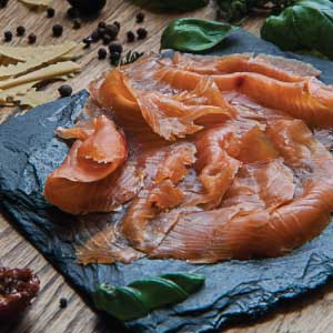 Smoked Salmon - Argyll Smokery (100g) - Romaine Calm Scotland