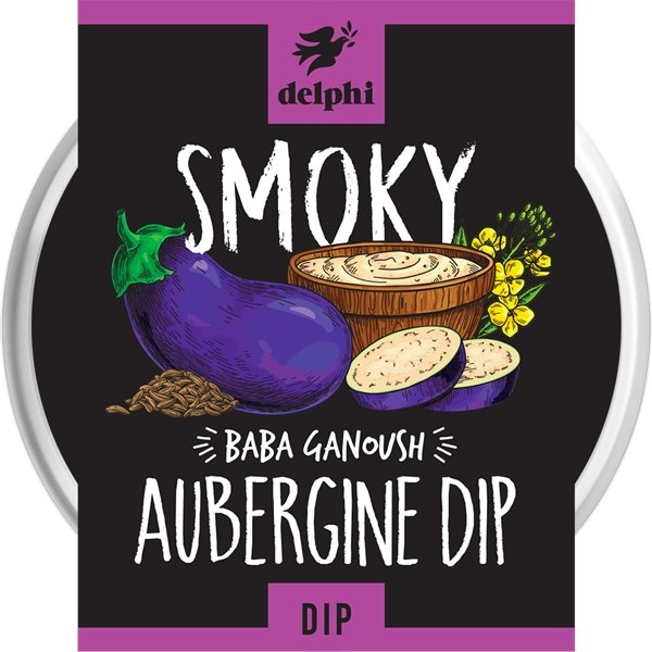 Smoky Aubergine Dip (170g) - Romaine Calm Scotland