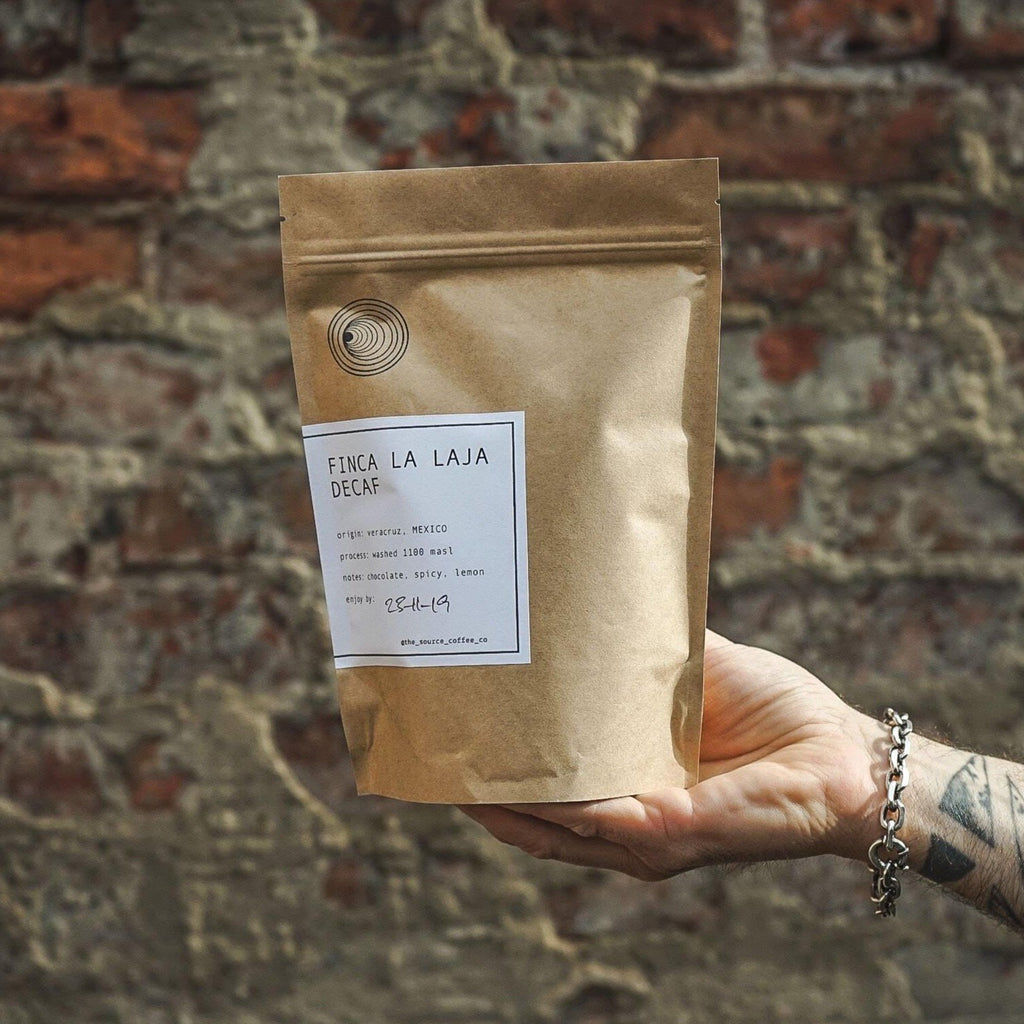 Source Coffee (250g) - Finca la Laja Decaf (French Press Grind) - Romaine Calm Scotland