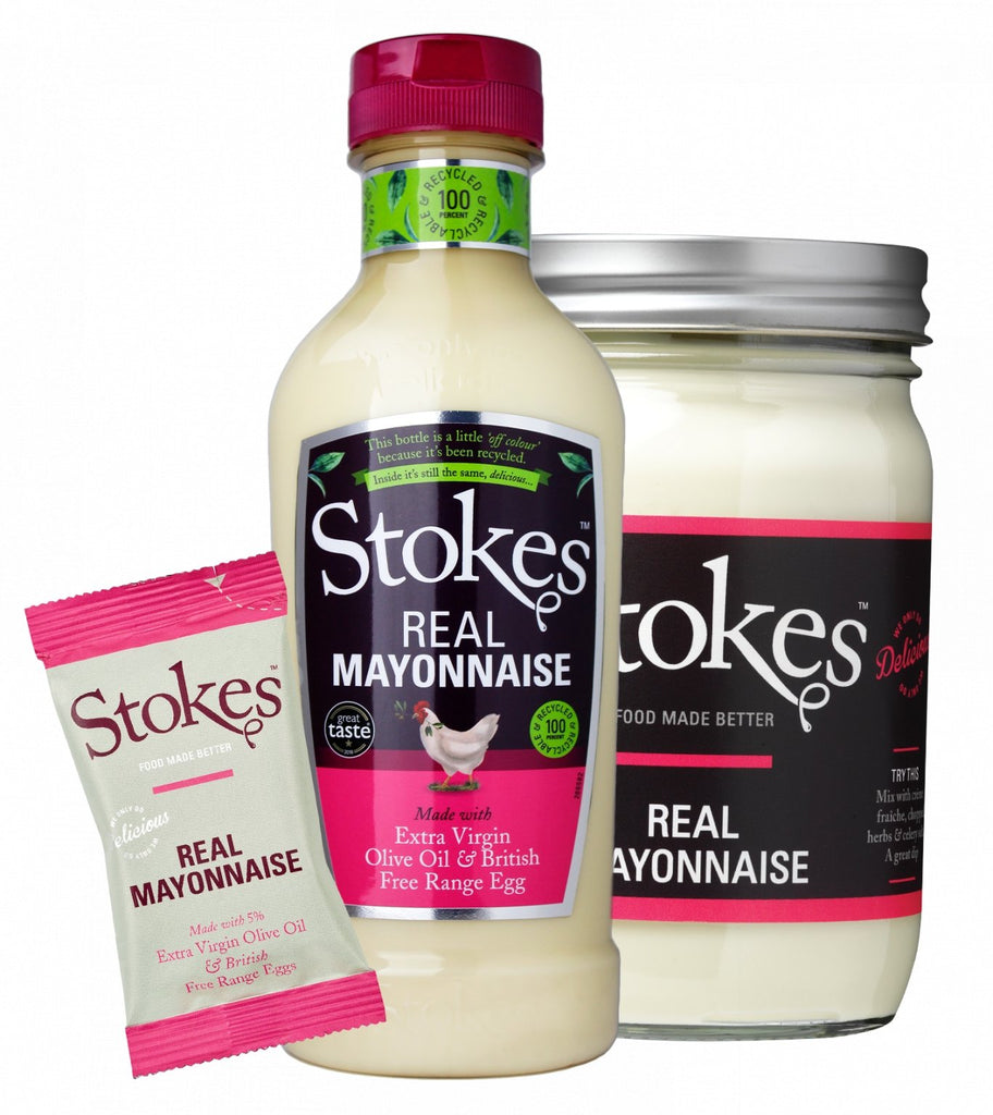 Stokes Real Mayonnaise (345g) - Romaine Calm Scotland