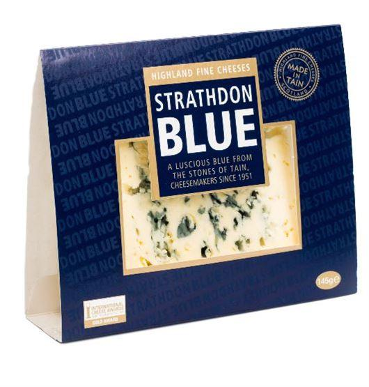 Strathdon Blue Cheese (145g) - Romaine Calm Scotland