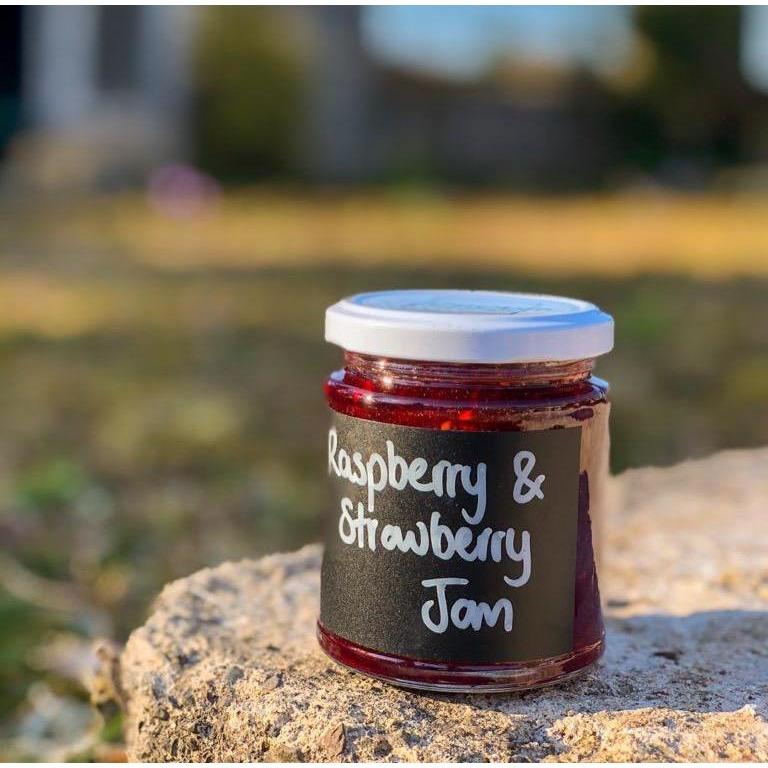 Strawberry & Raspberry Jam (8oz) - Penicuik House - Romaine Calm Scotland