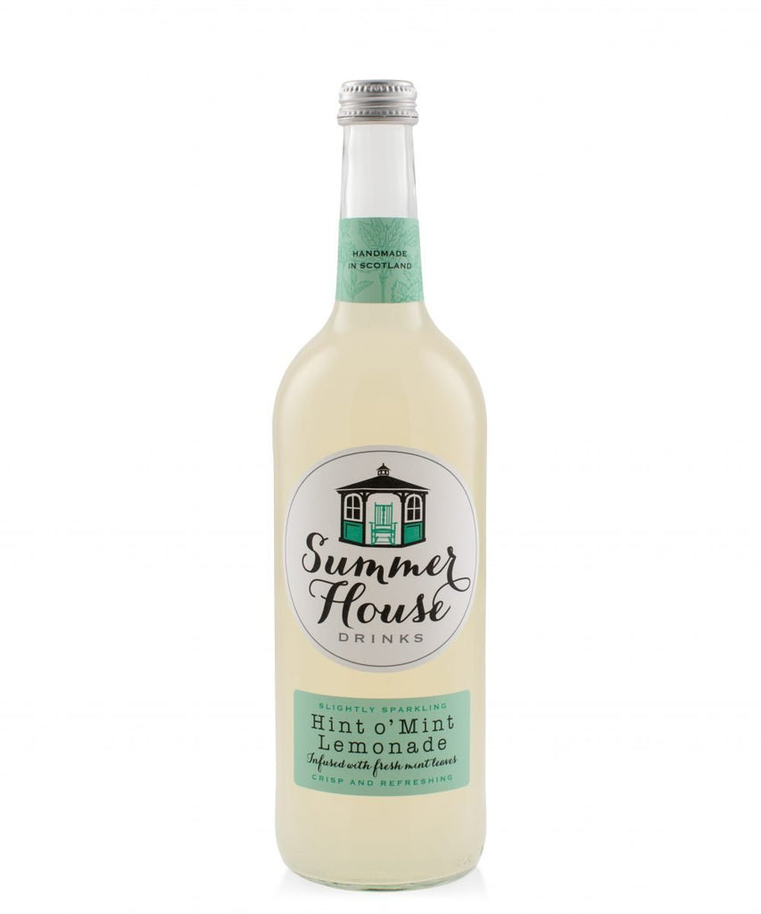 Summerhouse Lemonade with a Hint O' Mint (750ml) - Romaine Calm Scotland