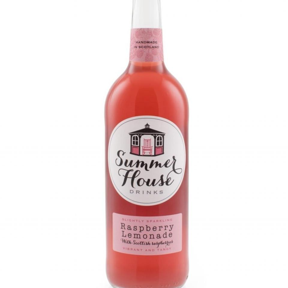 Summerhouse Scottish Raspberry Lemonade (750ml) - Romaine Calm Scotland