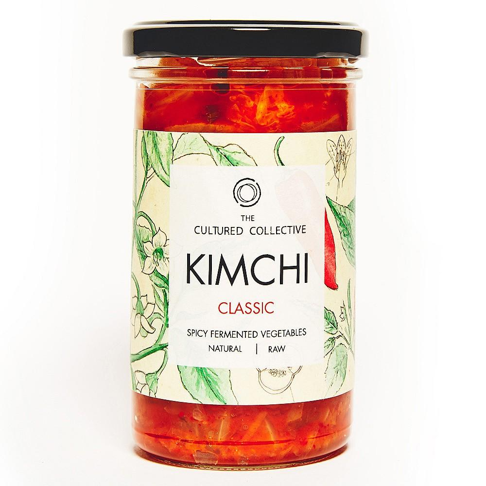 The Cultured Collective Classic Kimchi (250g) - Romaine Calm Scotland
