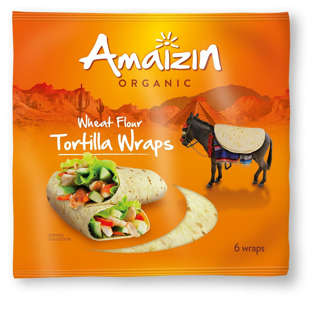 Tortilla Wraps (240g) - Romaine Calm Scotland