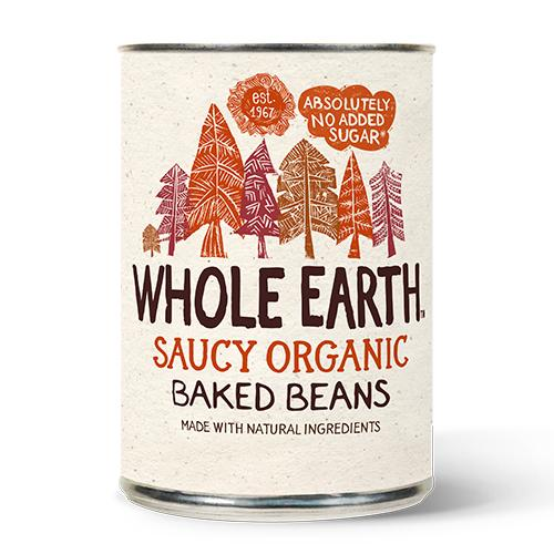 Whole Earth Organic Baked Beans (420g) - Romaine Calm Scotland
