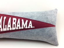 Load image into Gallery viewer, Alabama Crimson Tide Pennant Pillow