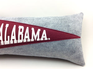Alabama Crimson Tide Pennant Pillow