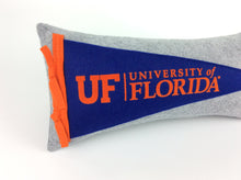 Load image into Gallery viewer, Florida Gators Pennant Pillow