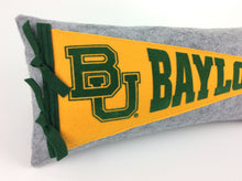 Load image into Gallery viewer, Baylor University Pennant Pillow