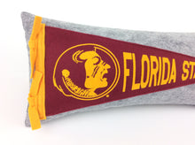 Load image into Gallery viewer, Florida State University Seminoles Pennant Pillow