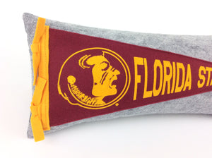 Florida State University Seminoles Pennant Pillow