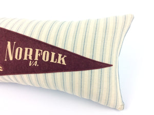 Customer order for Christi- Norfolk Vintage Pennant Pillow