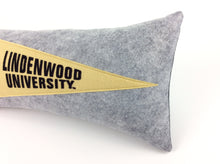Load image into Gallery viewer, Lindenwood University Pennant Pillow