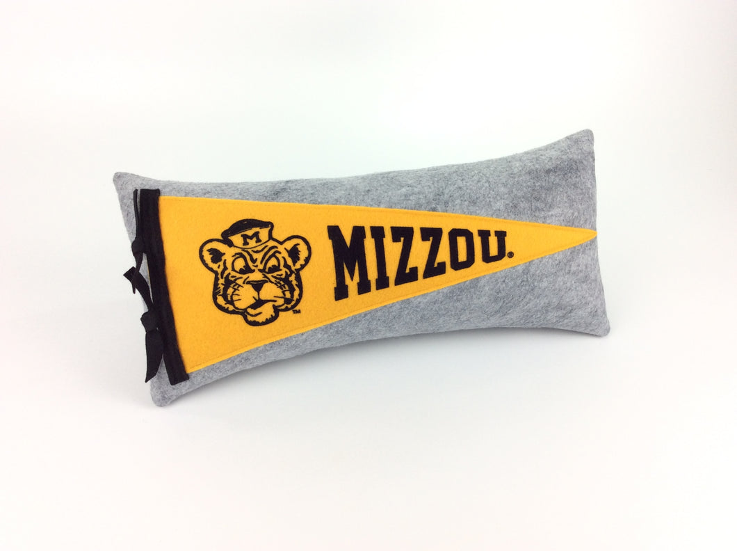 Missouri Tigers Pennant Pillow