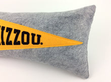 Load image into Gallery viewer, Missouri Tigers Pennant Pillow