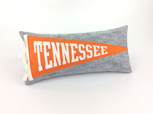 Tennessee Pennant Pillow