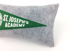Load image into Gallery viewer, St. Joseph's Academy mini pennant pillow