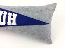 Load image into Gallery viewer, St. Louis University High SLUH Pennant Pillow
