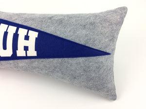 St. Louis University High SLUH Pennant Pillow