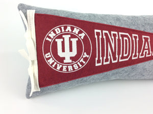 Indiana Hoosiers Pennant Pillow