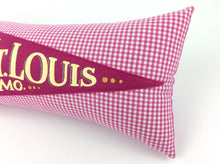 Load image into Gallery viewer, St. Louis Missouri Vintage Inspired Pennant Pillow STL