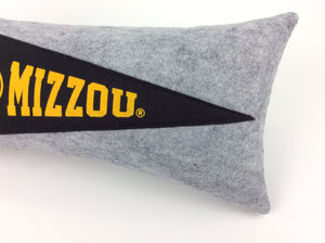 Missouri Tigers Mizzou Pennant Pillow