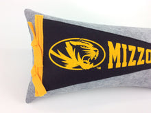Load image into Gallery viewer, Missouri Tigers Mizzou Pennant Pillow