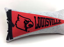 Load image into Gallery viewer, Louisville Cardinals Pennant Pillow