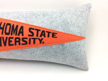 Load image into Gallery viewer, Oklahoma State University Cowboys Pennant Pillow