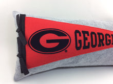 Load image into Gallery viewer, Georgia Bulldogs Pennant Pillow