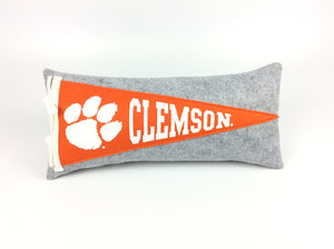 Clemson Tigers Pennant Pillow