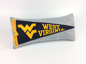 West Virginia Mountaineers Pennant Pillow