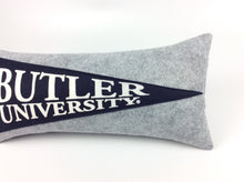Load image into Gallery viewer, Butler University Bulldogs Pennant Pillow