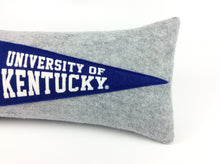 Load image into Gallery viewer, Kentucky Wildcats Pennant Pillow