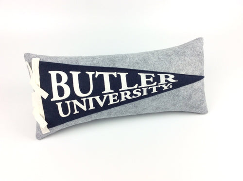 Butler University Bulldogs Pennant Pillow