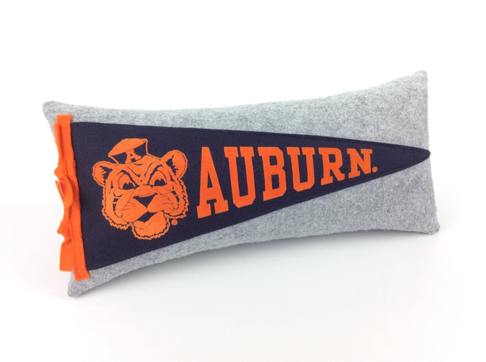 Auburn Tigers Pennant Pillow