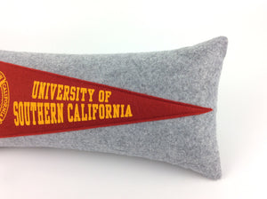 University of Southern California USC Trojans Pennant Pillow