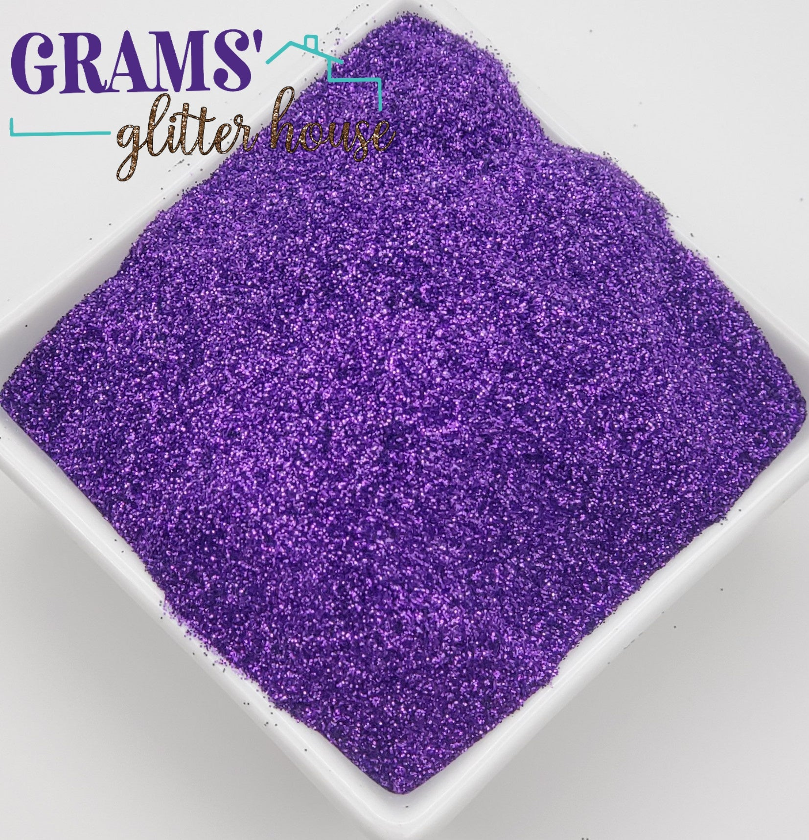 Purple Rain - Grams' Glitter House Polyester Glitter 4oz Bag