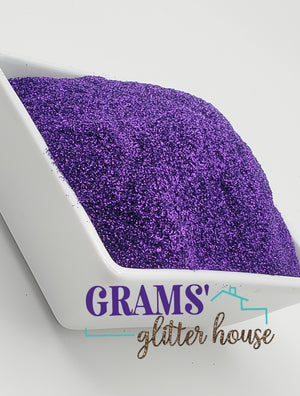Purple Rain - Grams' Glitter House Polyester Glitter 2oz