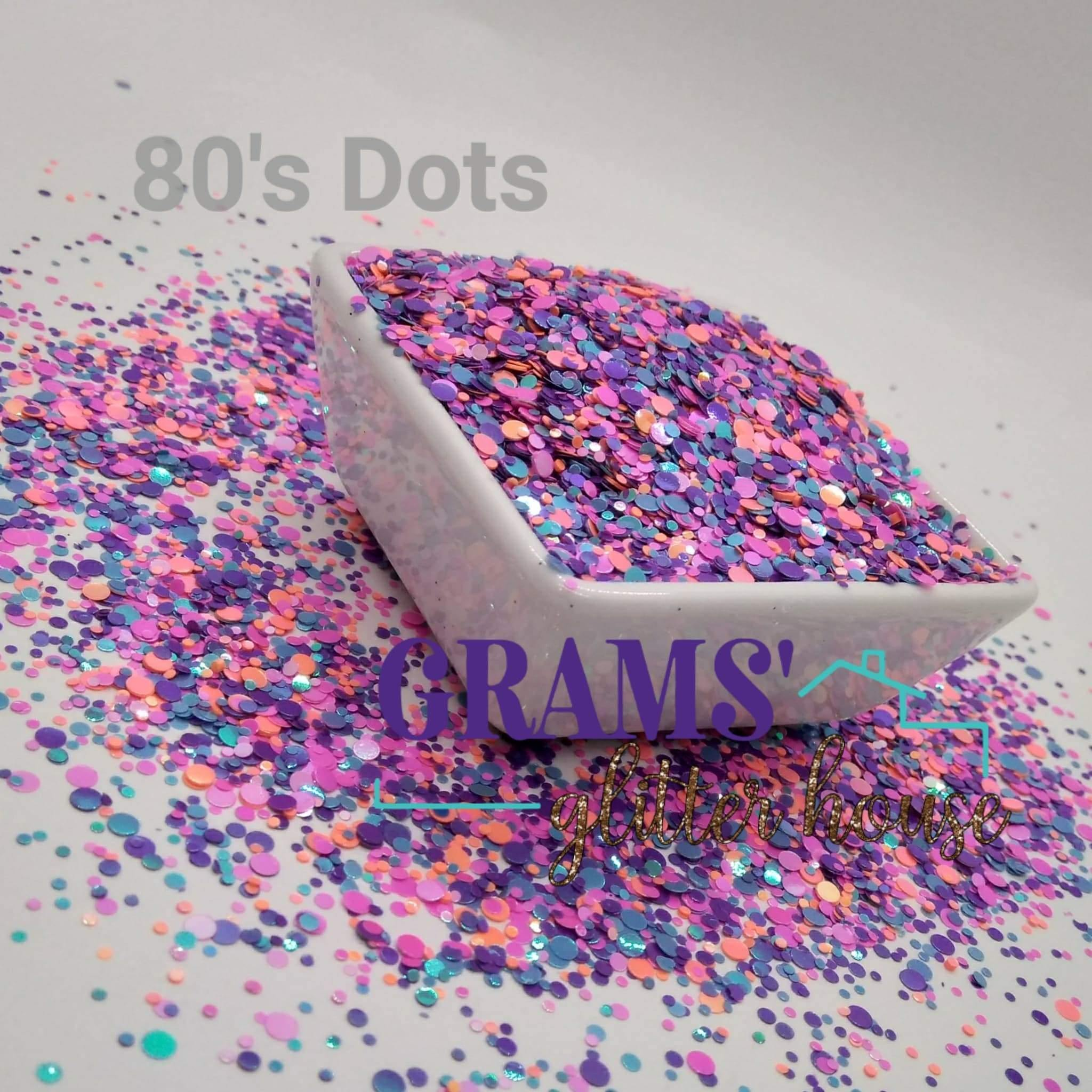 80's Dots - Grams' Glitter House